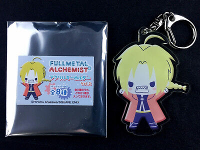 Fullmetal Alchemist Trading Acrylic Key Holder Ring Vol.2 Edward Elric New