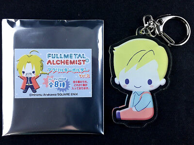 Fullmetal Alchemist Trading Acrylic Key Holder Ring Vol.2 Alphonse Elric 2 New