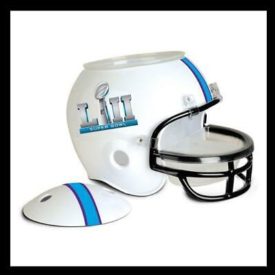 Patriots Eagles Superbowl 52 Minnesota Snack Helm,NFL Football ,Neu