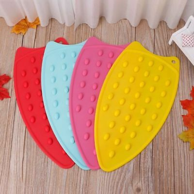 Silicone Iron Rest Pad For Ironing Board Heat Resistant Mat Dotted Bubbled