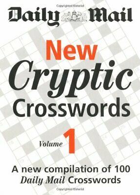 Daily Mail: New Cryptic Crosswords 1: A New Compilati... by Daily Mail Paperback