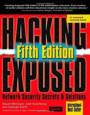 Hacking Exposed 5th Edition: Network Security Secr... by Kurtz, George Paperback