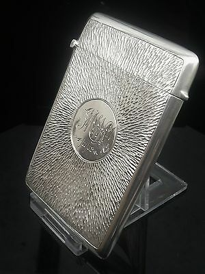 Silver Card Case, Birmingham 1911, Charles S Green & Co Ltd