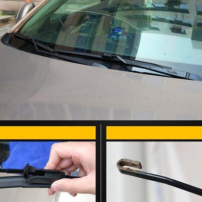 """16/"""" 16/"""" Stylarize Pair Of Front Car Windscreen Windshield Wiper Blades Wipers"""