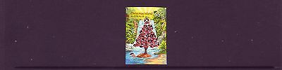 CHRISTMAS Island 2015 Christmas  65c single Embellished P&S stamp MNH