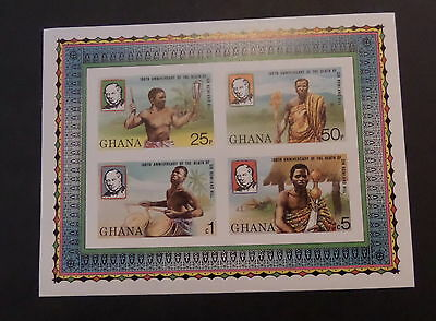 Ghana 1979 Death Cent Rowland Hill MS897 MS imperf MNH UM unmounted mint