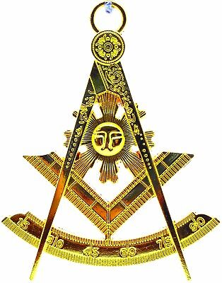 Past Master Masonic Collar Jewel GOLD