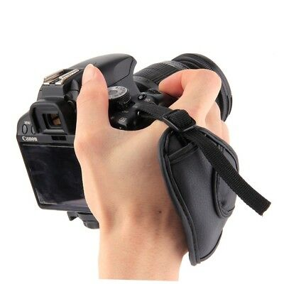 PU Leather Camera Hand Wrist Grip Strap For NIKON For Sony SLR DSLR Cameras MB