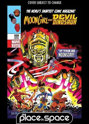 Moon Girl And Devil Dinosaur #25B - 3D Lenticular Variant (Wk47)