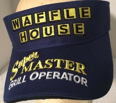 Waffle House Super Master Grill Operator hat/visor 2004 WH