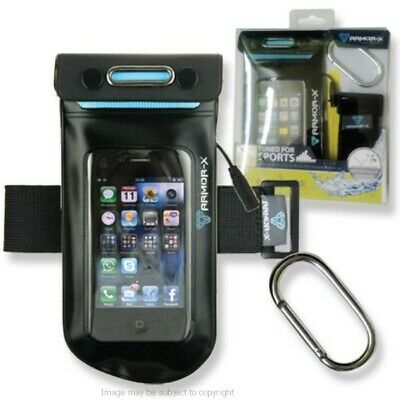 IPX8 Waterproof Sports Music Armband for iPod Touch inc Strap & Carabiner Hook