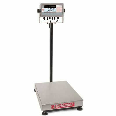 Ohaus D71XW60HL2 Defender 7000 Rectangle Scale, 150lb x 0.02Lb (60kg x 0.01kg)