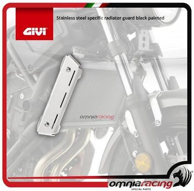 GIVI Stainless steel specific radiator guard black painted Yamaha XSR700 2016>