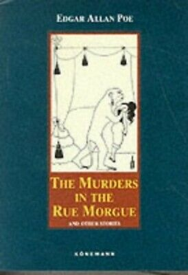 The Murders in the Rue Morgue (Konemann Classics) by Poe, Edgar Allan Hardback