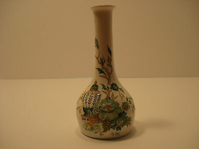 Crown Staffordshire Kowloon Vase with Gold Trim