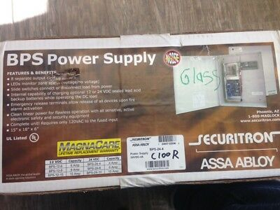 Securitron Power Supply BPS-24-4 *BRAND NEW*