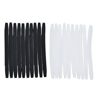 10 Pcs Silicone Rubber Eyeglasses Ear Socks Arms Glasses Replacement Parts Tubes