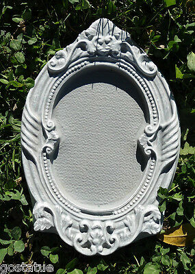 Frame decor mold Plaster concrete abs plastic mould
