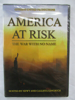 America At Risk: The War With No Name - Citizens United Dvd - Brand New
