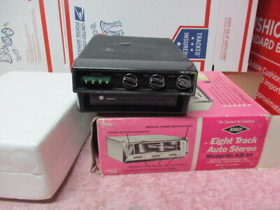 Vintage Mecca Car Player 8 Track player 8 Track Mecca