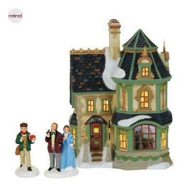 Department 56 Dickens Village Home For Holidays Set 4059379 Retired 2017 LTY