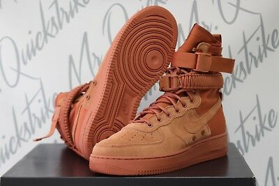 outlet store acf3d c3d3e Nike Sf Af-1 High Air Force 1 Special Field Sz 10.5 Af1 Dusty Peach