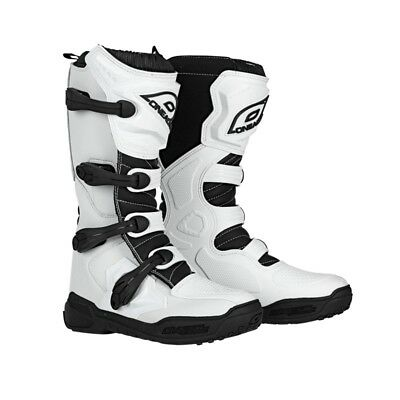 O'Neal Element Mens MX Offroad Boots White