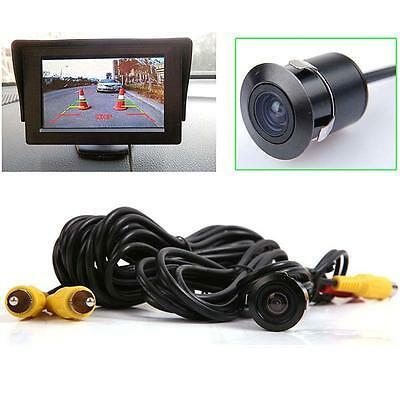 Night Vision Waterproof Car Rear View Reverse Backup Camera 170°C#TS Anti Fog BT
