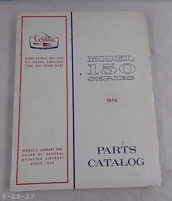 1970 Cessna Model 150 Series Parts Manual Catalog