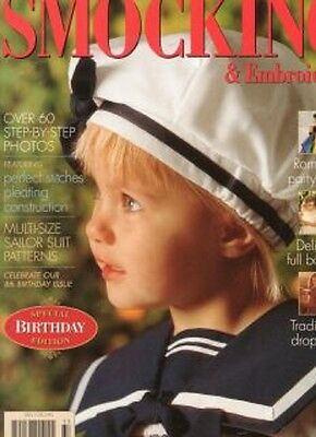 Australian Smocking & Embroidery Issue 33  Multi-size Patterns Unused NEW