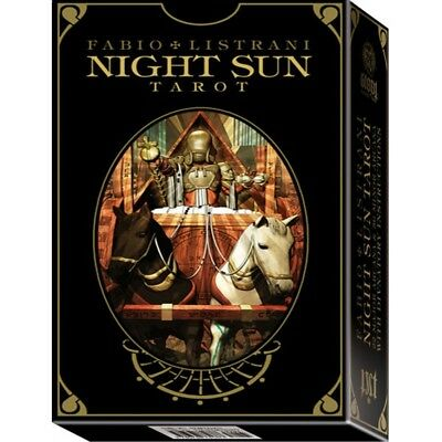Night Sun Tarot : A 78 Card Deck with Guidebook by Fabio listrani - Brand New