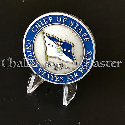 B76 General Jumper Chief of Staff United States Air Force Challenge Coin