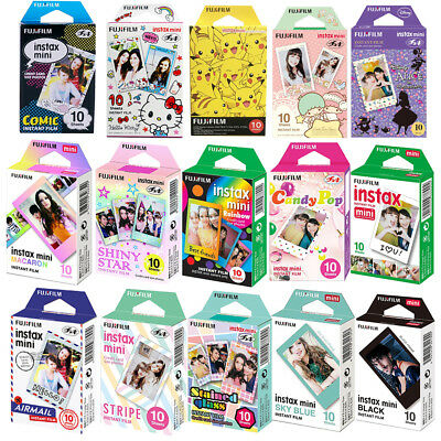 Fujifilm Instax Mini Polaroid Instant Film Sheets for 8 9 10 20 25 50 70 90 SP-2