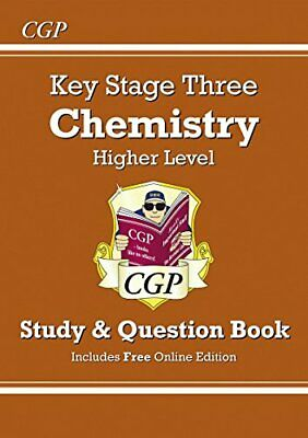 KS3 Chemistry Study & Question Book - Higher (CGP KS3 Science) by CGP Books The