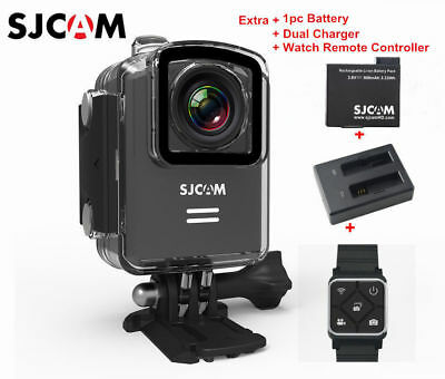 SJCAM M20 WiFi Waterproof Sports Action Camera+Battery+Dual Charger+Remote Watch