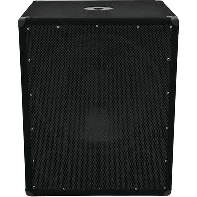 Omnitronic BX-1850 - PA Subwoofer Stage Woofer 18 Zoll NEU & OVP