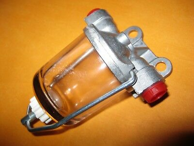 Kit Car, Trike (Ac Delco Type) Glass Bowl High Flow Fuel Filter