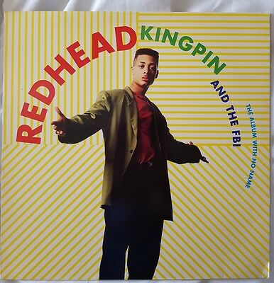 Redhead Kingpin And The FBI - The Album With No Name 12inch vinyl