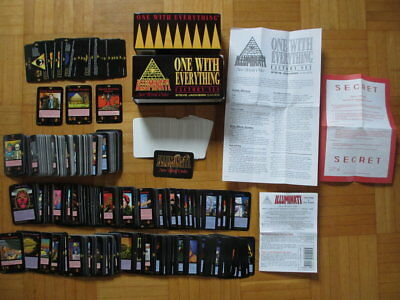 INWO 450 card Factory Box – Complete Illuminati New World Order set 409 cards