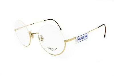 Dandy Hipster round pantos half rimmed STING mod. Fly // pale golden round frame