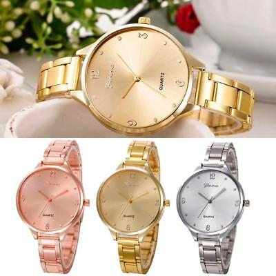 Women's Fashion Ladies Classic Quartz Stainless Steel Analog Wrist Watch Watches