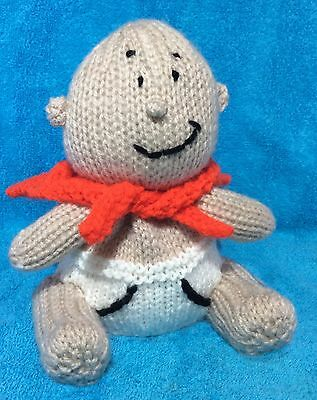 KNITTING PATTERN - Captain Underpants inspired choc orange cover / 15 cms toy
