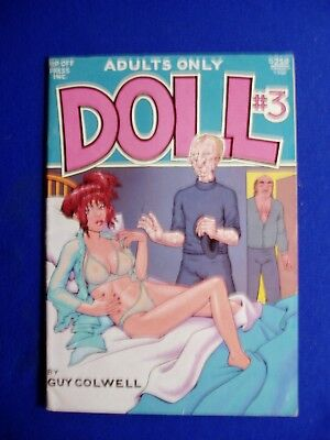 Doll 3. Underground Guy Colwell 1989. 1st. FN.