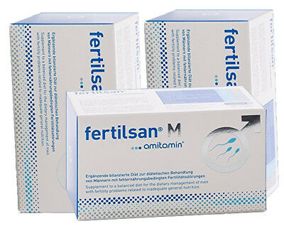 Fertilsan M Capsules  90-Days / 3 months - Amitamin *Worldwide Shipping*
