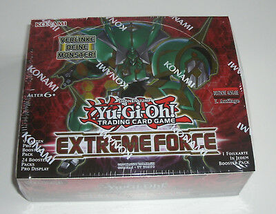 Yu-Gi-Oh - Extreme Force - Display - NEU & OVP - Deutsch