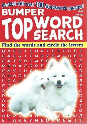 3 Bumper Word Search Magazines Most With 100+ Puzzles Solutions In Back (Set 71)