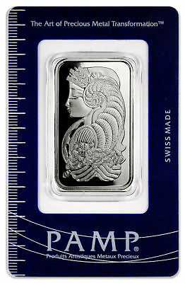 PAMP Suisse 1 Oz Palladium Bar (New Sealed with Assay Certificate) SKU32549