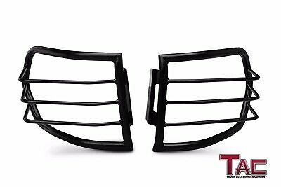 TAC Tail Rear Light Guards Cover Protector for 2007-2014 Toyota FJ Cruiser Black