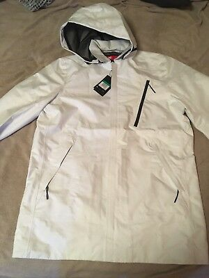 the latest ad570 30217 Nike Sportswear Bonded Tech Pack Waterproof White Shield Jacket Mens XL  tall