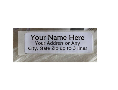 Quality-Made Personalized Address Roll Labels w/Free Plastic Dispenser 400pcs
